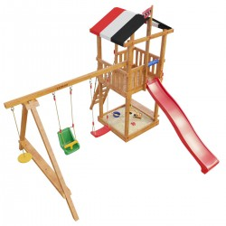Детская игровая деревянная площадка Амстердам (модель 2017Г.)