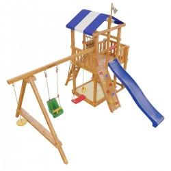 Детская игровая деревянная площадка «Бретань» (модель 2017Г.)