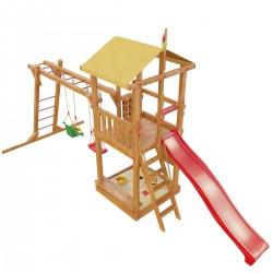 Детская игровая деревянная площадка «Мадагаскар» (модель 2017г.)