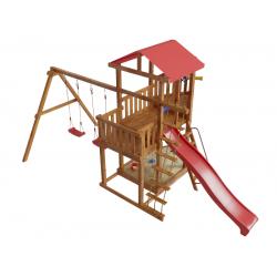 Детская игровая деревянная площадка-корабль «Ассоль»