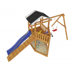 Детская игровая деревянная площадка-корабль «Баунти»
