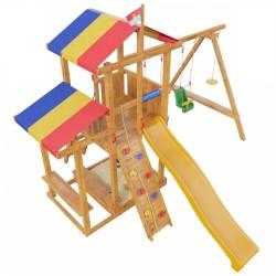 Детская игровая деревянная площадка «Кирибати» (модель 2018Г.)