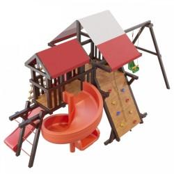 Детская деревянная площадка Таити Люкс